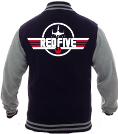 RED FIVE VARSITY - INSPIRED BY LUKE SKYWALKER STAR WARS